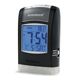 Microbeam Travel Clock